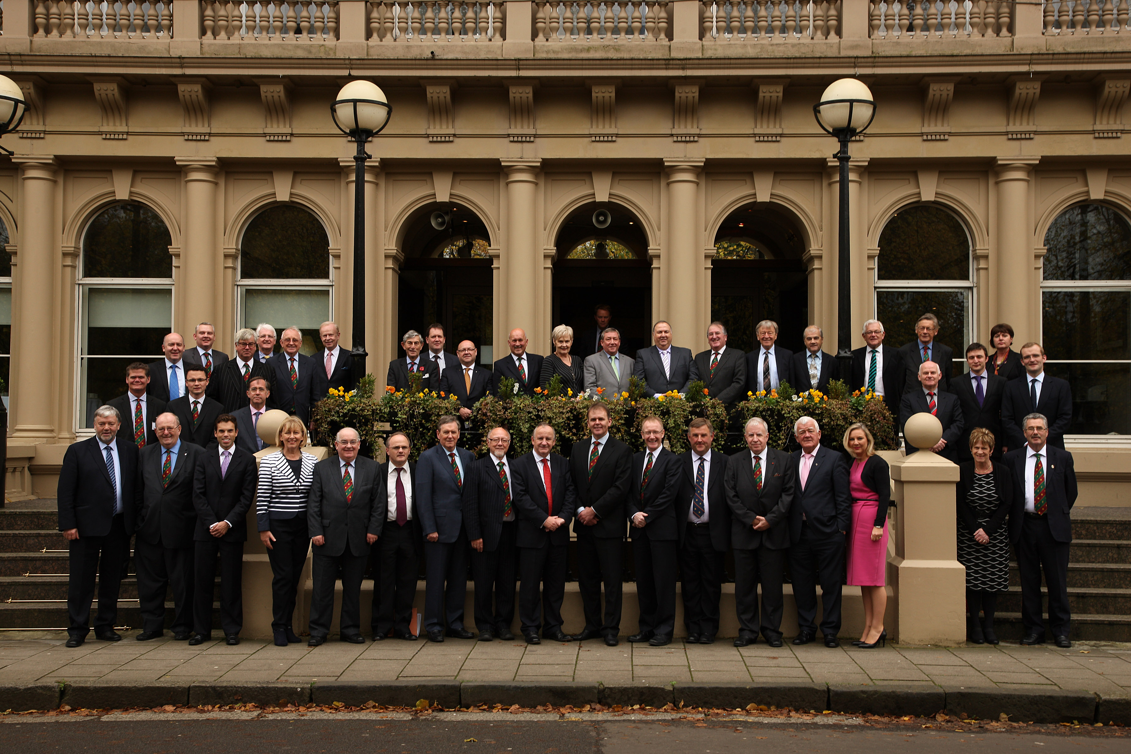Delegates to the 45th plenary of the British Irish Parliamentary Assembly, Glasgow, 22-23 October 2012