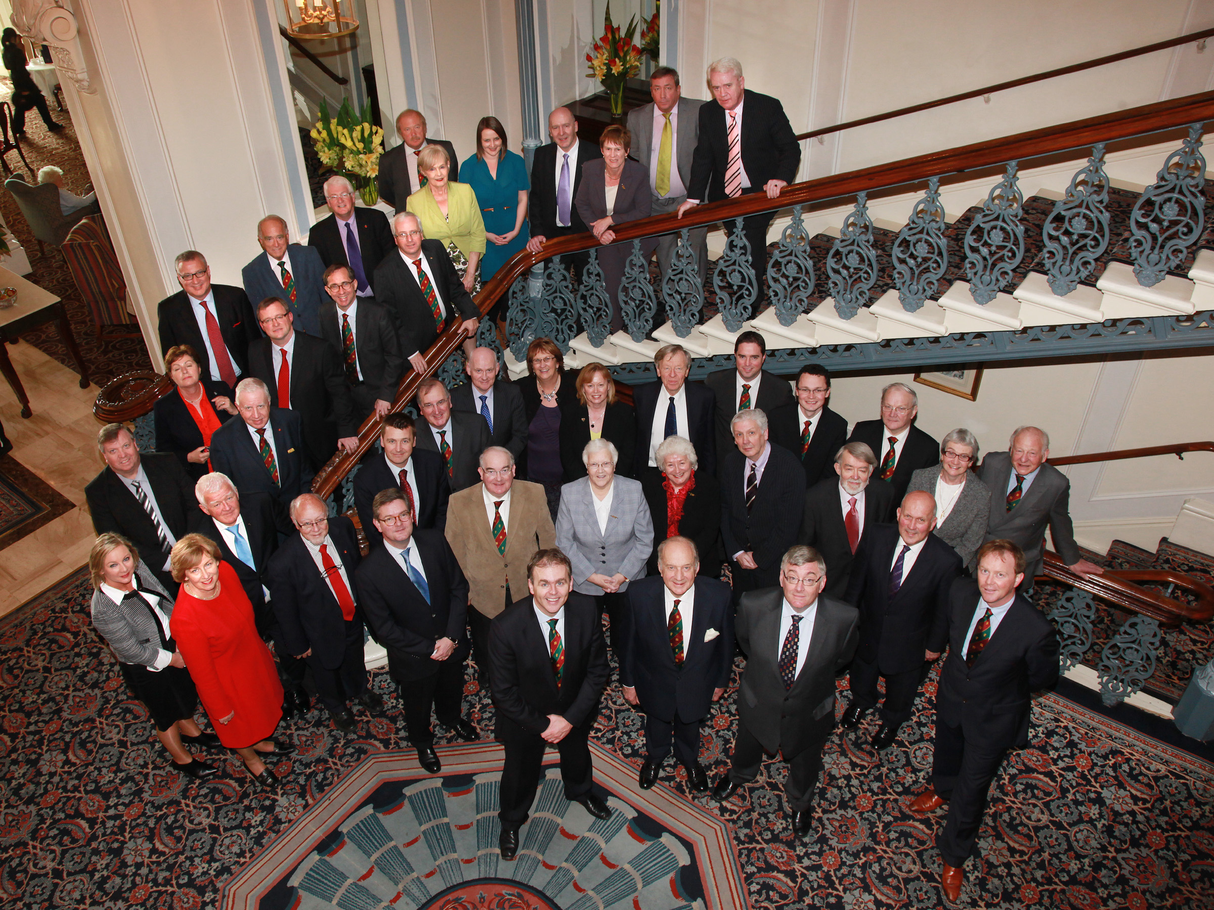 Delegates to the 43rd plenary of the British Irish Parliamentary Assembly, Grand Hotel, Brighton, 24-25 October 2011