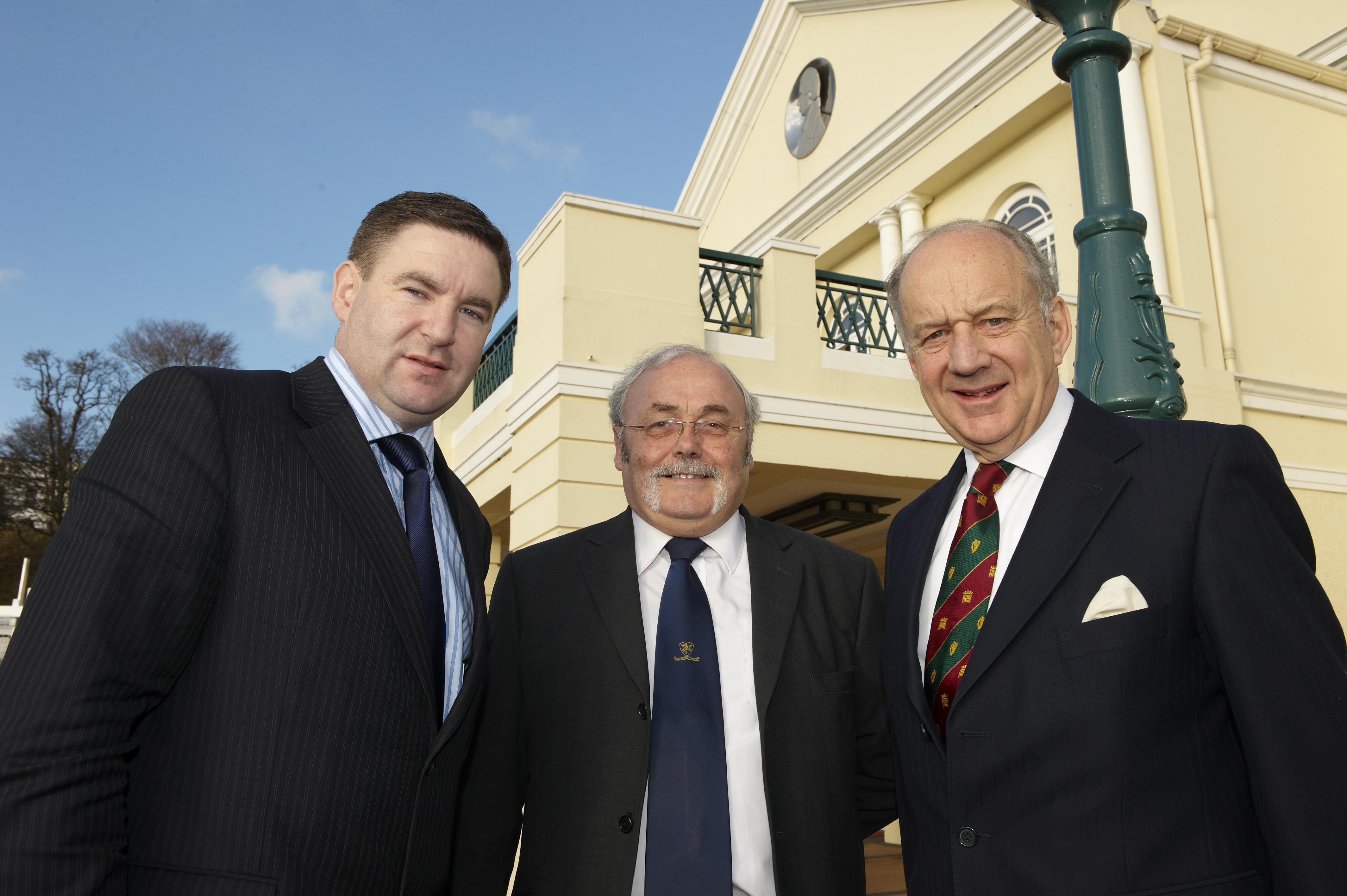 BIPA Co-Chairs, Niall Blaney TD and Lord Cope of Berkeley, with the Chief Minister of the Isle of Man, Mr JA Brown