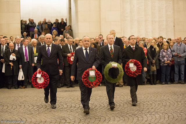 Poignant day in Flanders to commemorate WW1