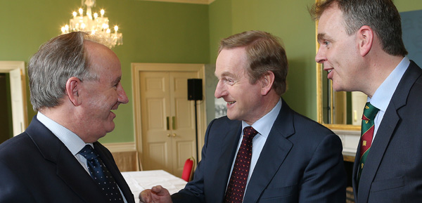 Taoiseach and Ryanair CEO address BIPA in Kilmainham